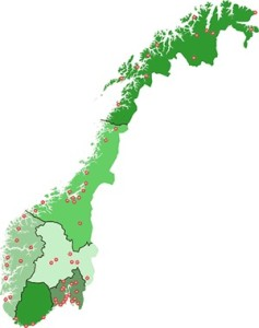 retura norgeskart